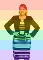 Bec - in rainbow