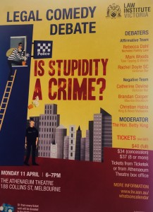 Legal Comedy Debate