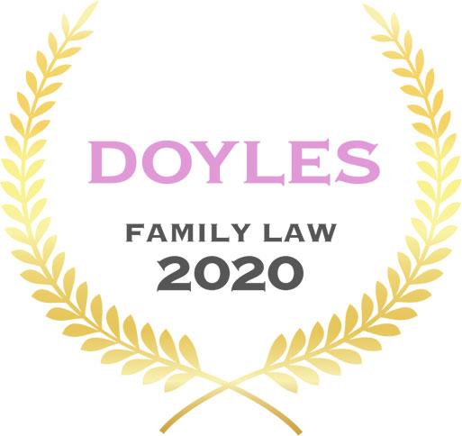 Doyles no ranking family law 2021 awards