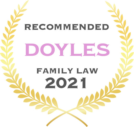 Doyles recommended family law 2021 awards